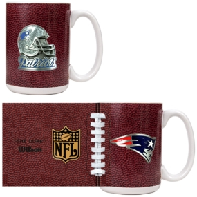 New England Patriots 2pc GameBall Coffee Mug Set