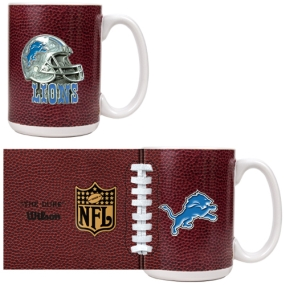 Detroit Lions 2pc GameBall Coffee Mug Set
