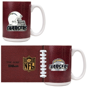 San Diego Chargers 2pc GameBall Coffee Mug Set