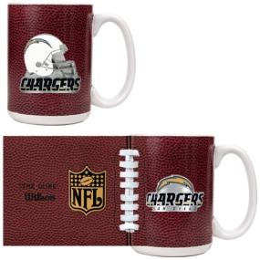 San Diego Chargers 2pc GameBall Coffee Mug Set