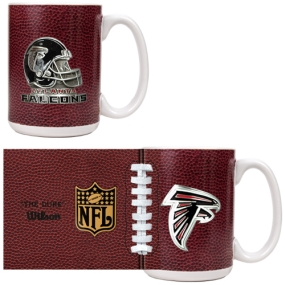 Atlanta Falcons 2pc GameBall Coffee Mug Set