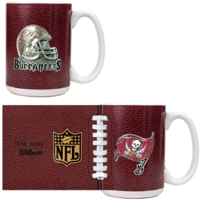 Tampa Bay Buccaneers 2pc GameBall Coffee Mug Set