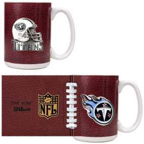 Tennessee Titans 2pc GameBall Coffee Mug Set