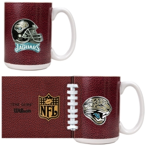 Jacksonville Jaguars 2pc GameBall Coffee Mug Set