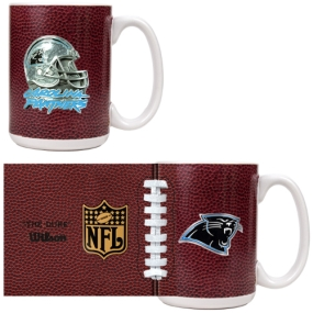 Carolina Panthers 2pc GameBall Coffee Mug Set
