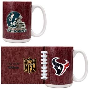 Houston Texans 2pc GameBall Coffee Mug Set