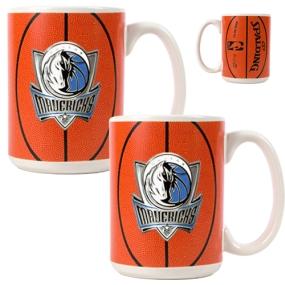 Dallas Mavericks 2pc Ceramic Gameball Mug Set