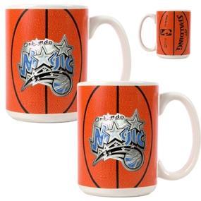 Orlando Magic 2pc Ceramic Gameball Mug Set