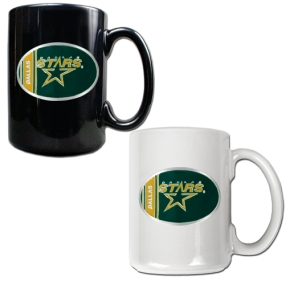 Dallas Stars 2pc 15oz Ceramic Mug Set