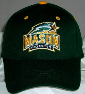George Mason Patriots Team Color One Fit Hat