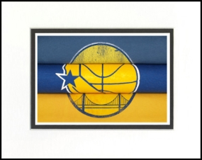 Golden State Warriors Vintage T-Shirt Sports Art