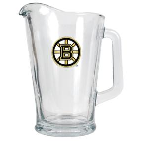 Boston Bruins 60oz Glass Pitcher