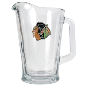 Chicago Blackhawks 60oz Glass Pitcher