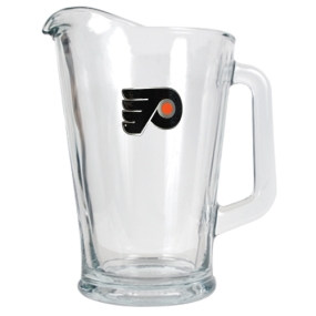 Philadelphia Flyers 60oz Glass Pitcher