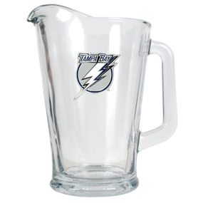 Tampa Bay Lightning 60oz Glass Pitcher