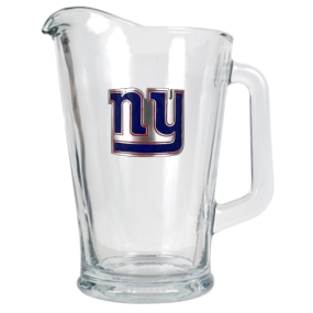 New York Giants 60oz Glass Pitcher