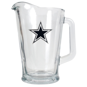 Dallas Cowboys 60oz Glass Pitcher