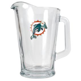 Miami Dolphins 60oz Glass Pitcher