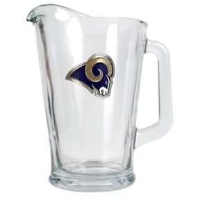 Saint Louis Rams 60oz Glass Pitcher
