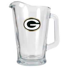 Green Bay Packers 60oz Glass Pitcher