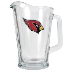 Arizona Cardinals 60oz Glass Pitcher