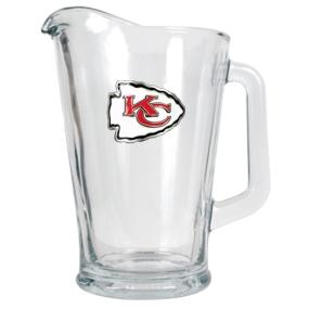 Kansas City Chiefs 60oz Glass Pitcher
