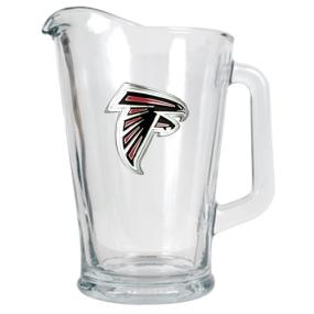 Atlanta Falcons 60oz Glass Pitcher