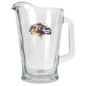 Baltimore Ravens 60oz Glass Pitcher