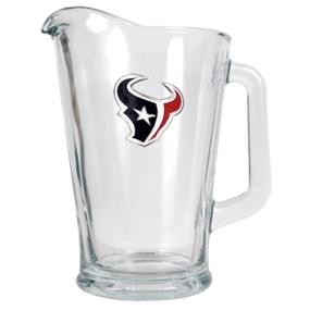 Houston Texans 60oz Glass Pitcher