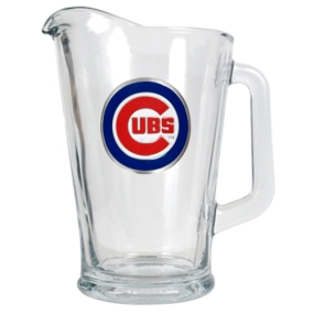 Chicago Cubs 60oz Glass Pitcher