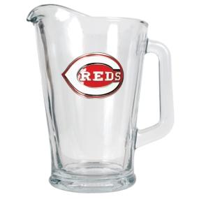 Cincinnati Reds 60oz Glass Pitcher