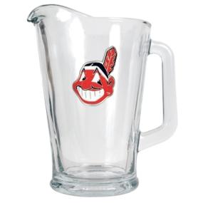 Cleveland Indians 60oz Glass Pitcher