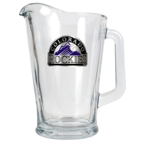 Colorado Rockies 60oz Glass Pitcher
