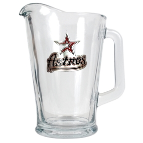 Houston Astros 60oz Glass Pitcher