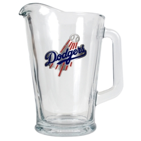 Los Angeles Dodgers 60oz Glass Pitcher