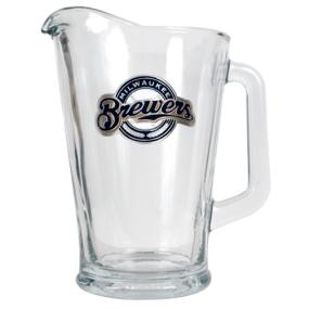 Milwaukee Brewers 60oz Glass Pitcher