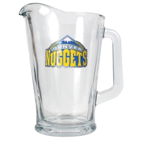 Denver Nuggets 60oz Glass Pitcher