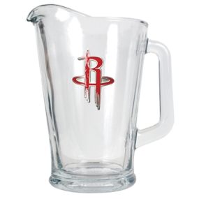Houston Rockets 60oz Glass Pitcher