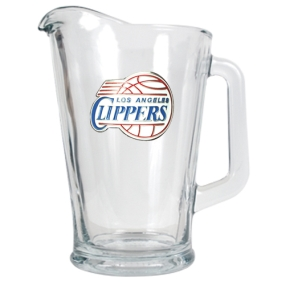 Los Angeles Clippers 60oz Glass Pitcher
