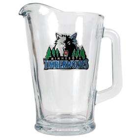 Minnesota Timberwolves 60oz Glass Pitcher