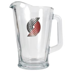 Portland Trailblazers 60oz Glass Pitcher
