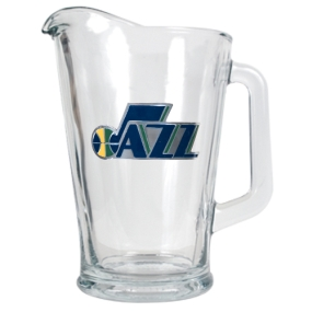 Utah Jazz 60oz Glass Pitcher