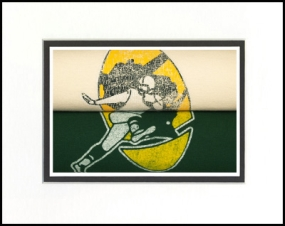 Green Bay Packers Vintage T-Shirt Sports Art
