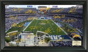 San Diego Chargers Signature Gridiron