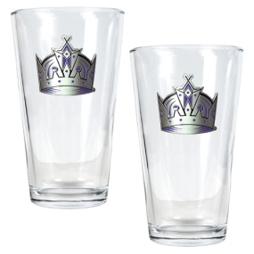 Los Angeles Kings 2pc Pint Ale Glass Set