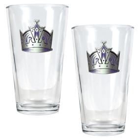 Los Angeles Kings 2pc Pint Ale Glass Set