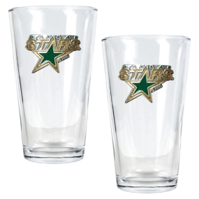 Dallas Stars 2pc Pint Ale Glass Set