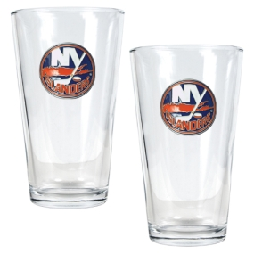 New York Islanders 2pc Pint Ale Glass Set