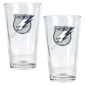 Tampa Bay Lightning 2pc Pint Ale Glass Set