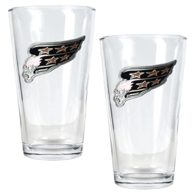 Washington Capitals 2pc Pint Ale Glass Set
